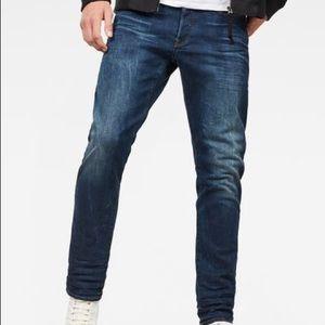Men's G-Star RAW Jeans 3301 Slim 32x34 MSRP $160